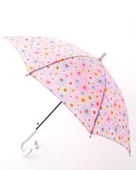 pink umbrella on white background