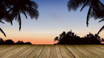 Silhouette Beautiful View image