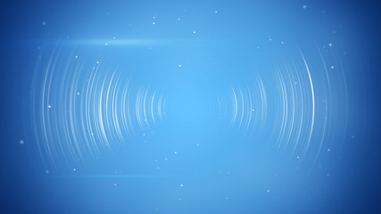 Foto op Plexiglas Abstract wave wireless transition abstract blue technology background