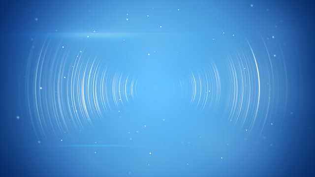 wireless transition abstract blue technology background