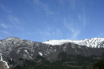 Hakuba mountains in Nagano, Japan