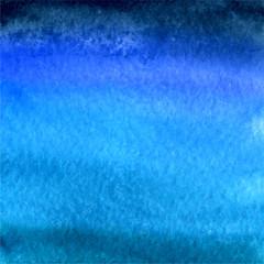 vector watercolor dark blue background