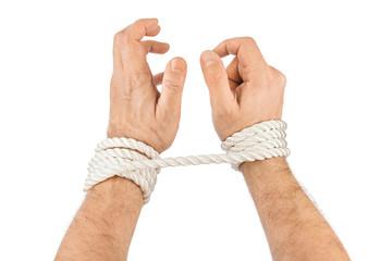 Bound hands