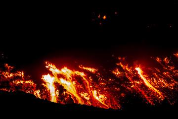 Eruption of Etna volcano's May 16, 2015