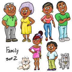 Family - set 2