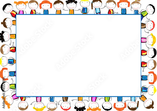 """""""Kids frame"""" Stock image and royalty-free vector files on ..."""