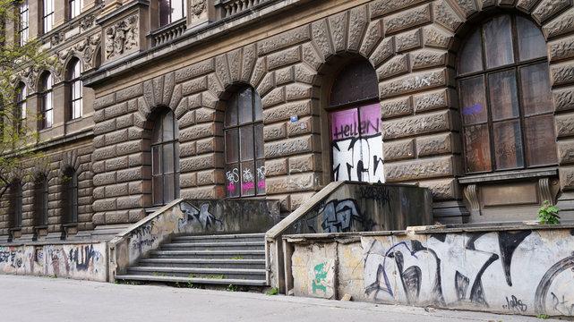 Graffiti and Historical Architecture