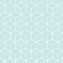 Cube light pattern background. Vector background bleu green
