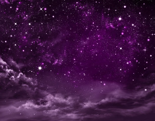 starry sky, abstract  background