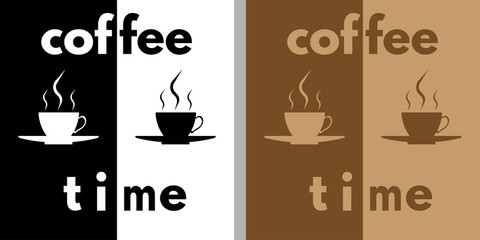 Coffee time illustrations