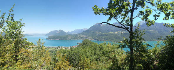 annecy lake summer nature landscape