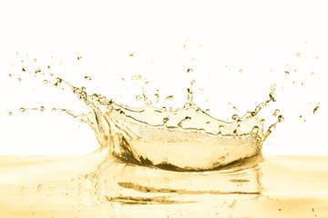 white wine splash