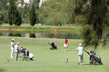 Golf course,La Sella, Denia, Alicante, Spain