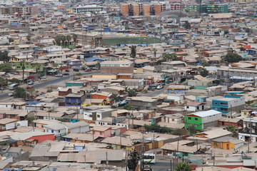 Blick auf Iquique (Chile)