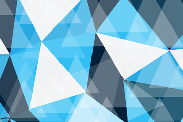 BLUE POLY  TECHNOLOGY ABSTRACT BACKGROUND.