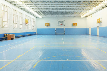 Interior of a sport games hall