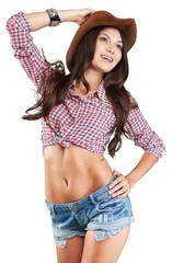Girl, cowgirl, western.