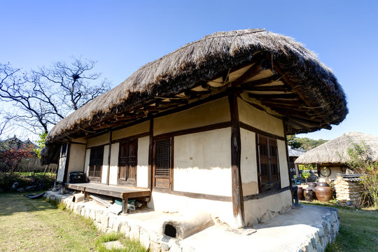 Traditional Korean House ,  Andong, South Korea