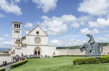 Basilica of St. Francis of Assisi, Umbria, Italy