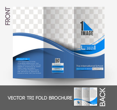 The International School Tri-Fold Brochure