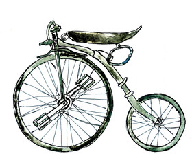 Painted Bicycle
