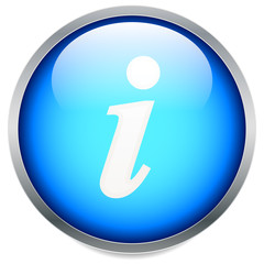 Information, info icon with letter i with italic font. vector.