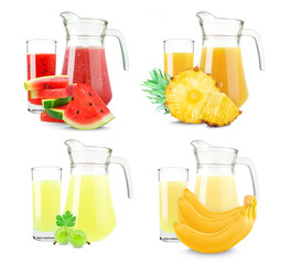 juices collage