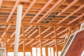 wooden ceilings, building homes in New Zealand