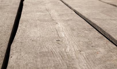 Old brown wooden floor perspective. Background