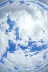 radial sky