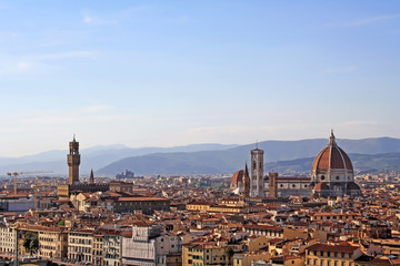 Florence view at dusks