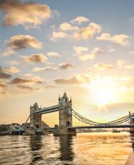 Photo sur Plexiglas Londres Tower Bridge in London, England