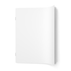 Cover empty magazine blank