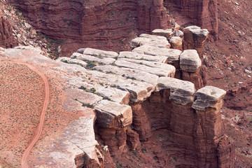 White Rim beim Canyonlands Nationalpark