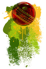 Cricket Ball Banner