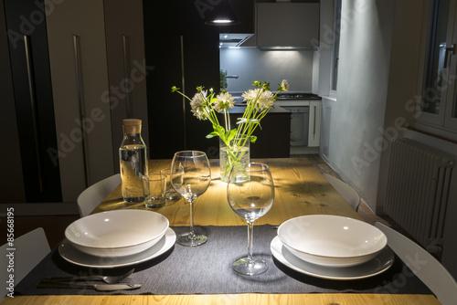 cena romantica per due\