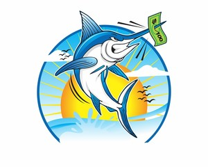 marlin fishing with money