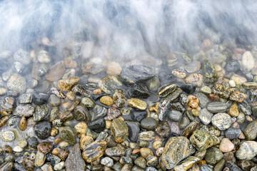 Kieselsteine Strand