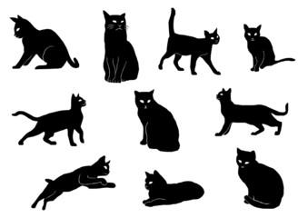 ネコ シルエット