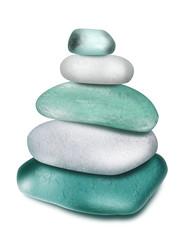 Turkusowe kamienie
