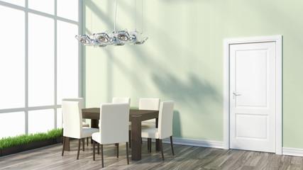 Render modern interior