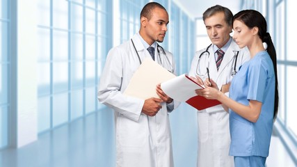 Healthcare And Medicine, Doctor, Medical Exam.