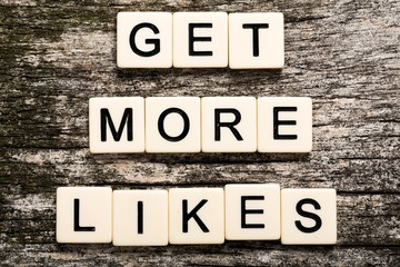 Get, more, likes.