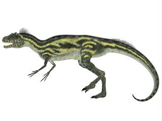 Deltadromeus Side Profile