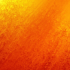 yellow orange background with grunge texture. abstract background brush strokes design.