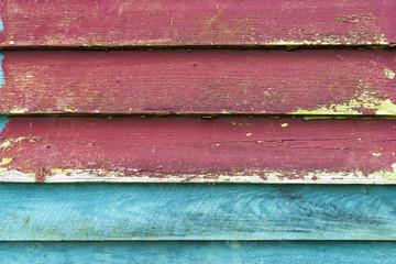 Hintergrund bunte Holzwand