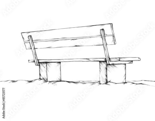 Bank Zeichnen