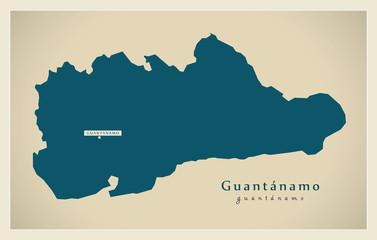 Modern Map - Guantanamo CU