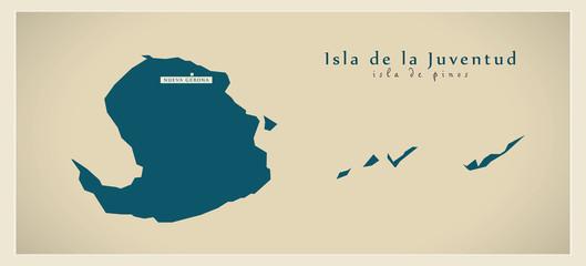 Modern Map - Isla de la Juventud CU