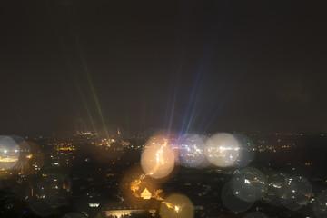 Karlsruhe, Nachtaufnahme